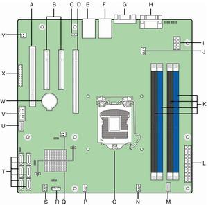 Intel S1200BTS diagram