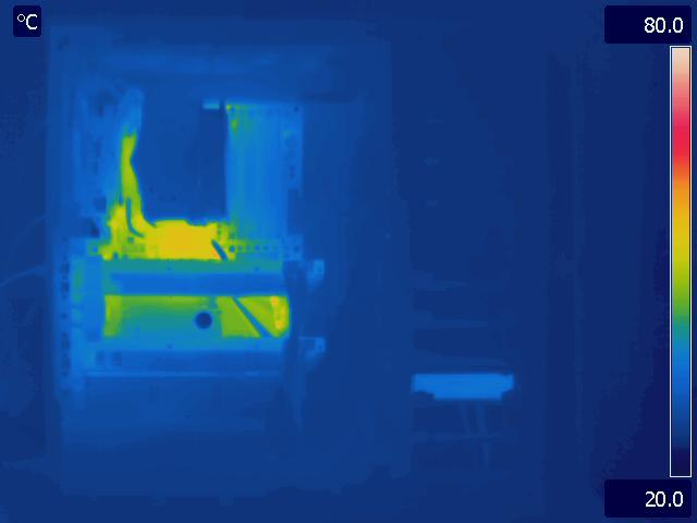 Antec P280 Idle Thermal Image