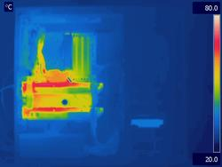 Antec P280 Load Thermal Image