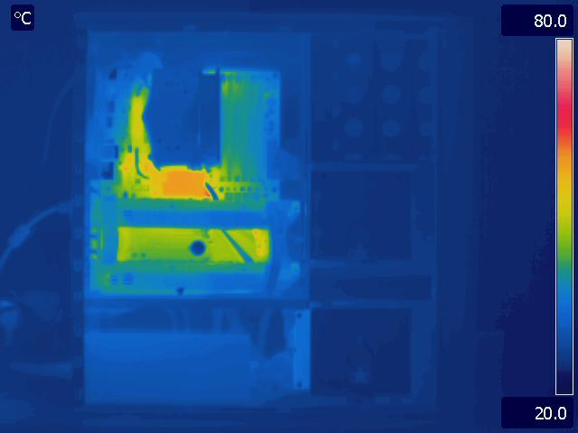 Antec P183 V3 Idle Thermal Image