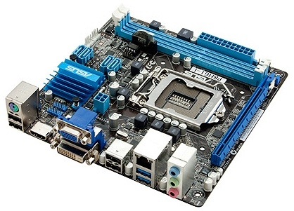 Asus P8H61-I Angle Picture