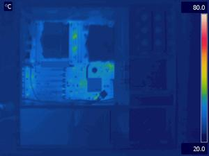 Asus Z9PE-D8 WS Idle Thermal Image