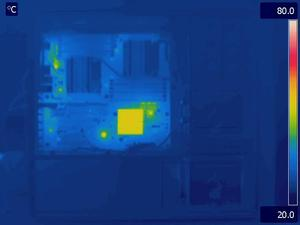 Intel S5520 Idle Thermal Image