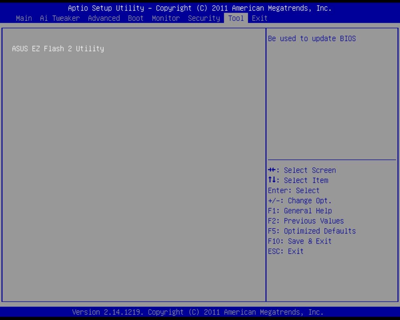 Asus Z9PE-D8 WS BIOS EZ Flash