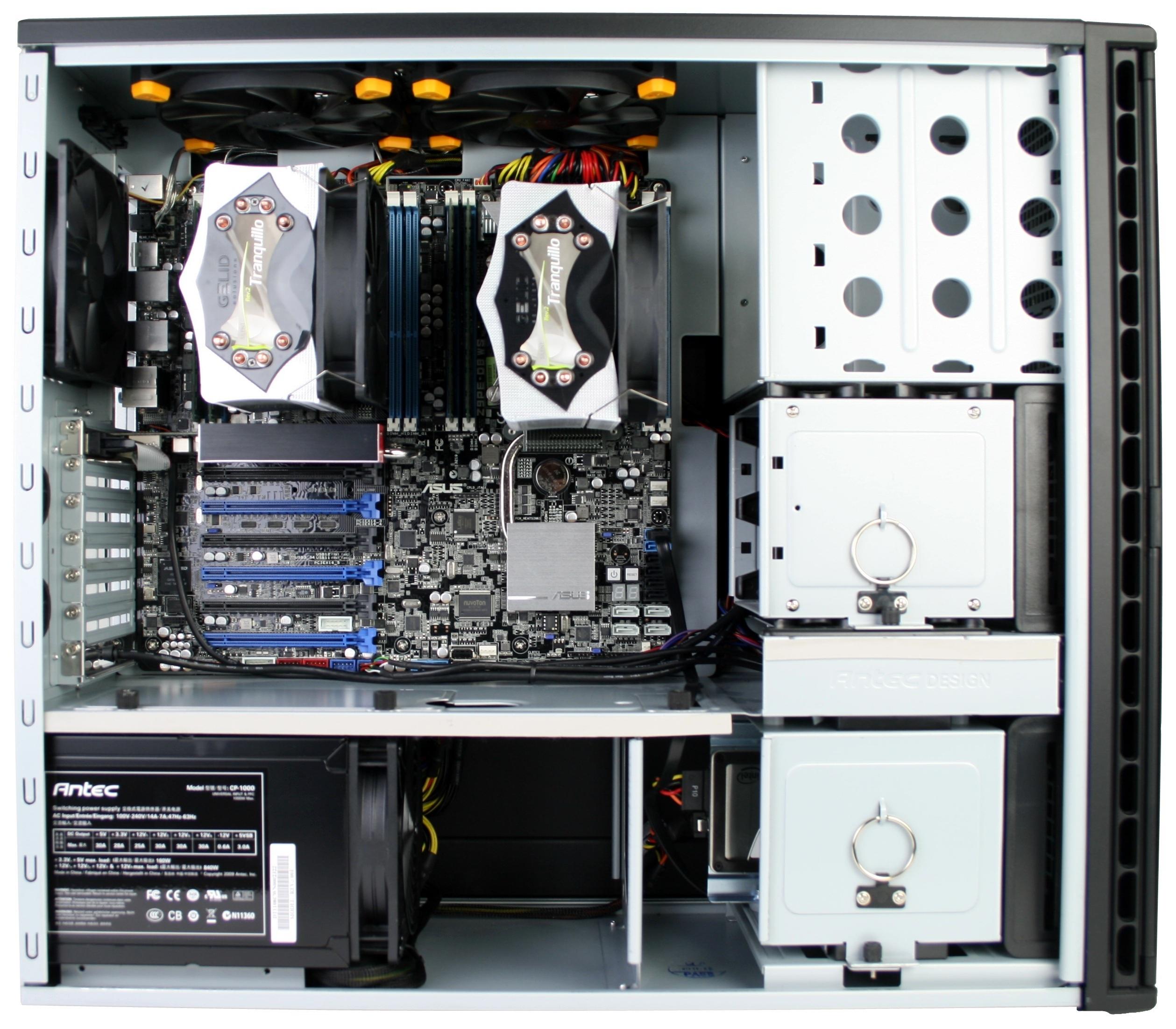 Asus Z9PE-D8 WS Assembled