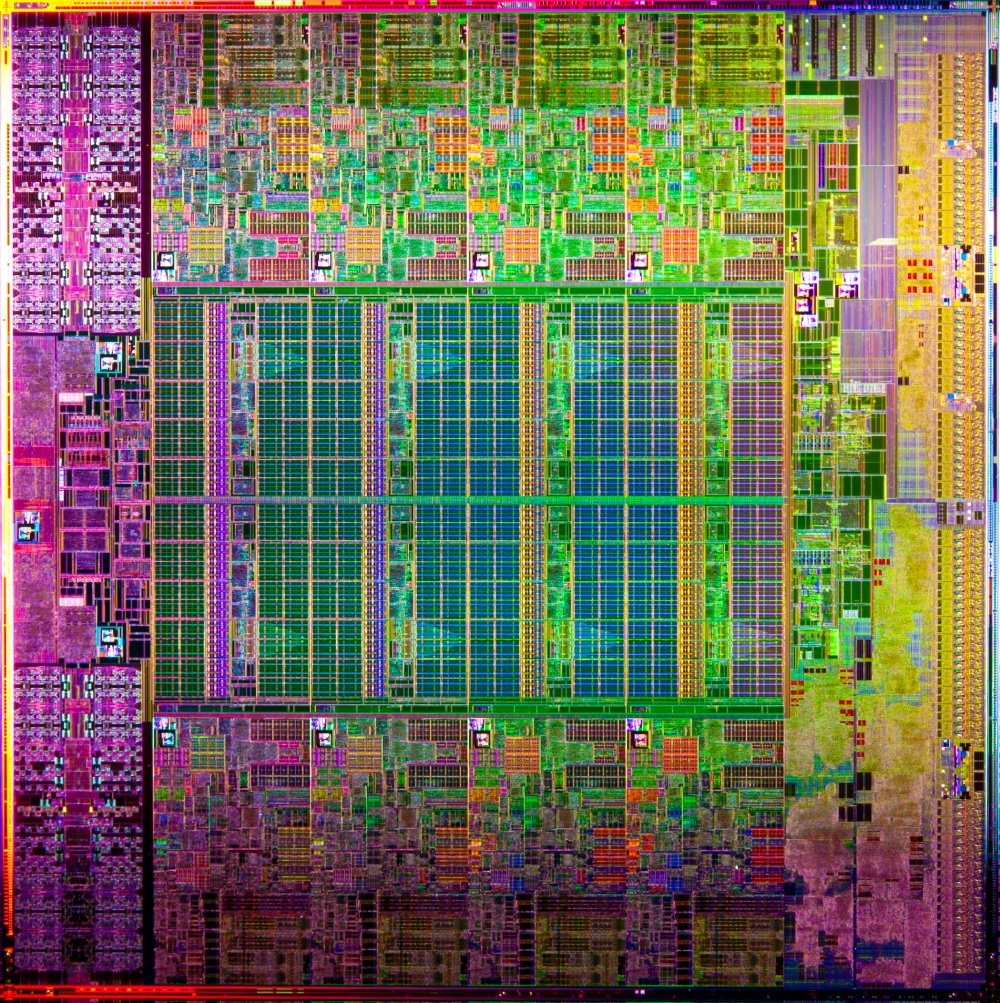 Intel Xeon E5 Sandy Bridge-EP Product Die