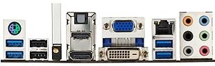 Asus P8Z77-V Pro IO Ports
