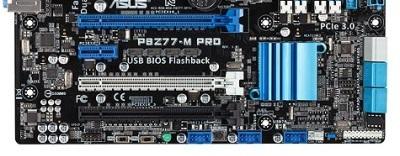 Asus P8Z77-M Pro PCIe slots