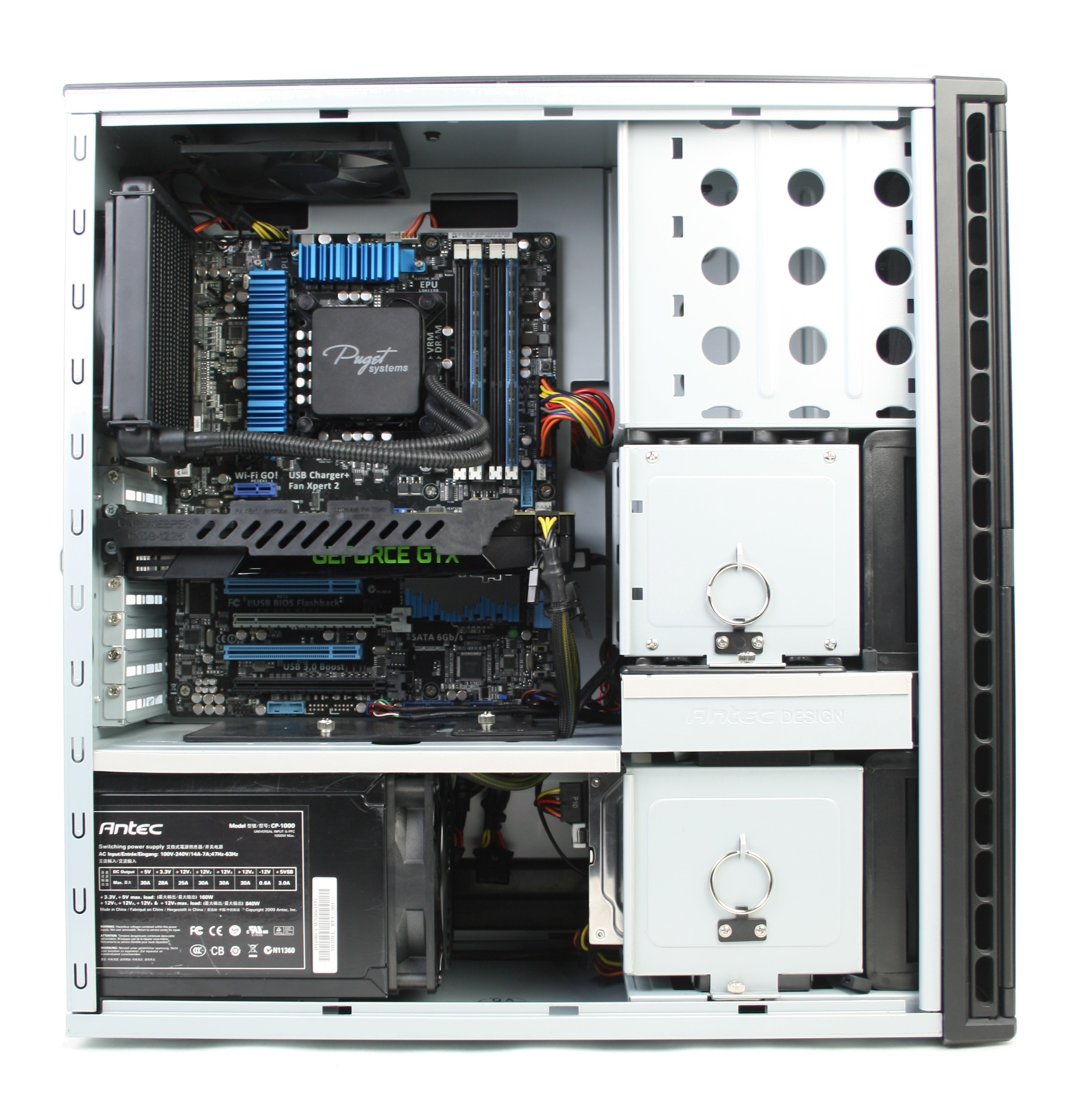Asus P8Z77-V Pro install in an Antec P183 V3