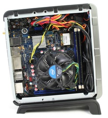 Intel DH77DF Assembled