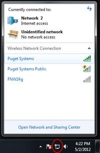 Windows Wireless Signal Strength Utility