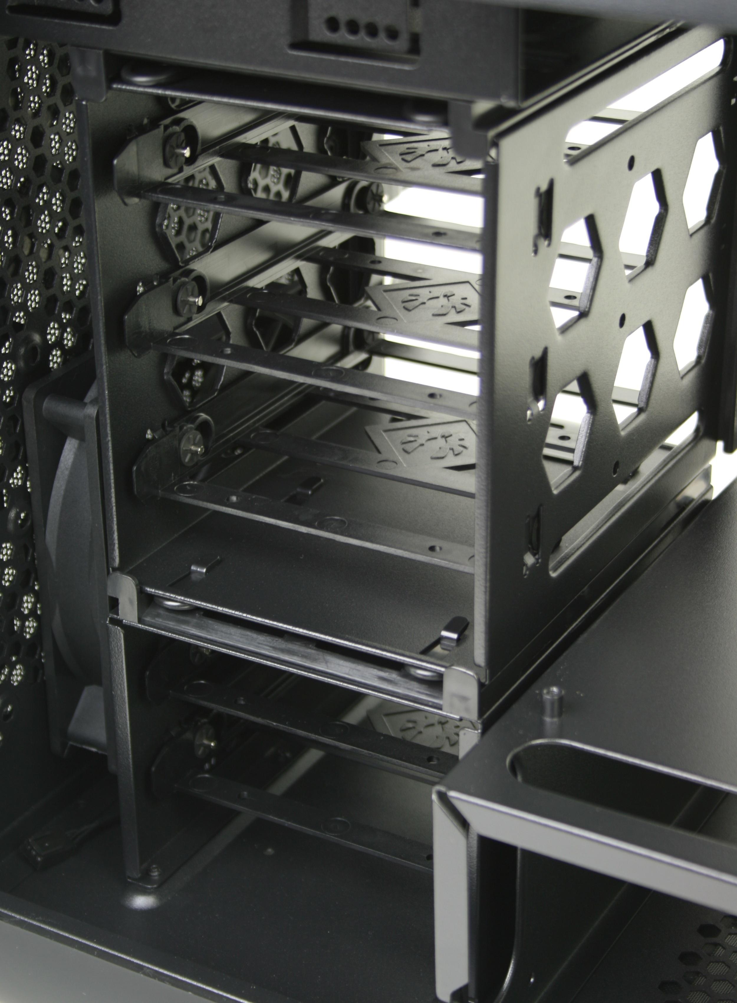 BitFenix Prodigy 3.5 inch Drive Cage Rear
