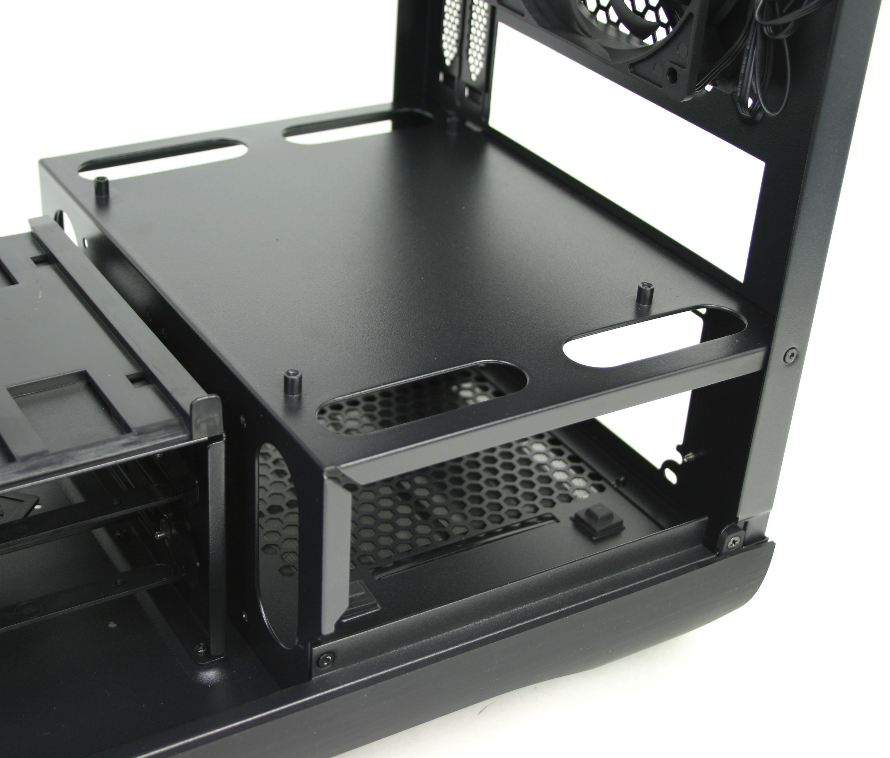 BitFenix Prodigy Cable Management Holes