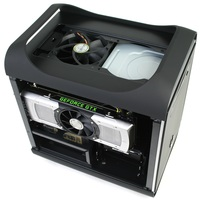BitFenix Prodigy Assembled Top Fan and Optical Drive