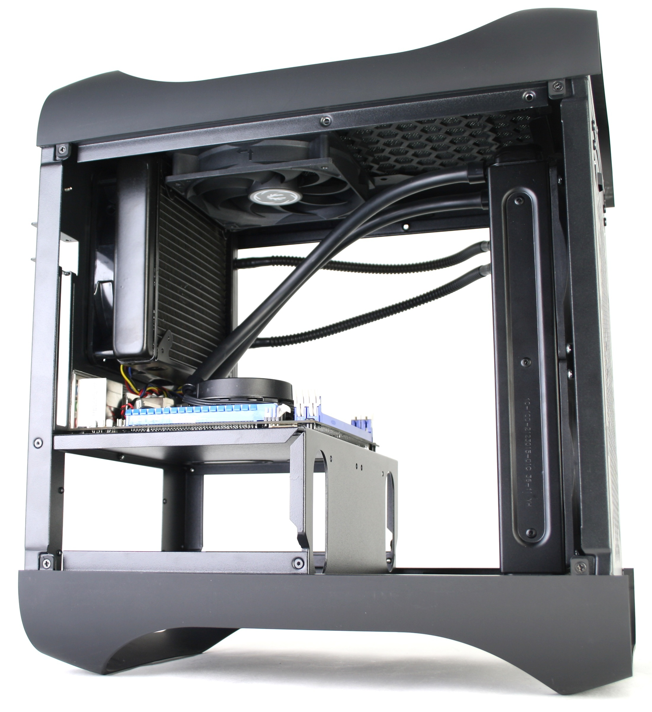 BitFenix Prodigy Liquid Cooling Top Rear Radiator