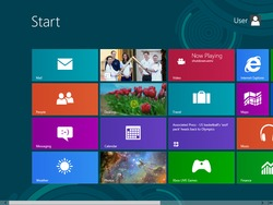 Windows 8 Start Interface