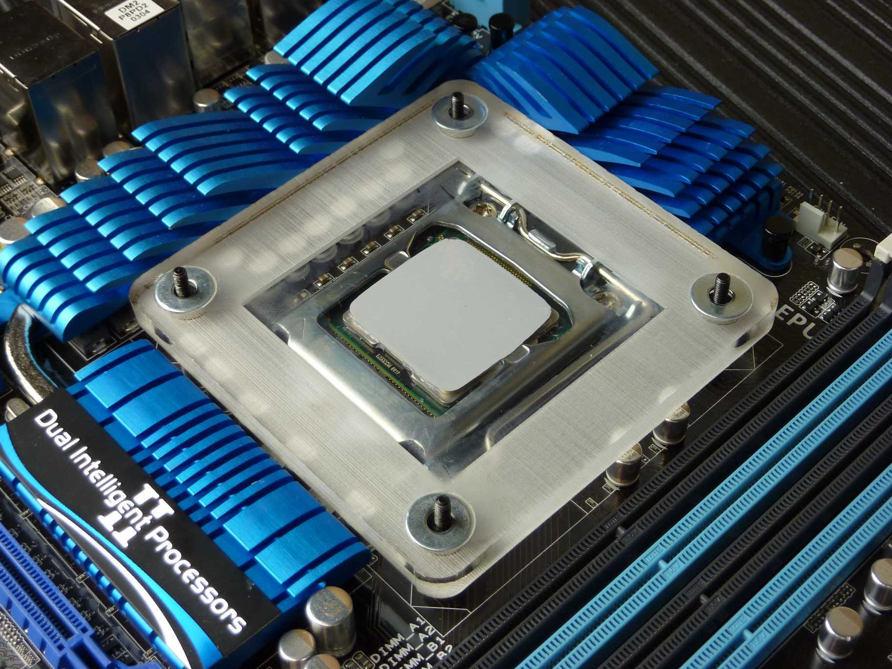 Thermal Paste Spreader In Place