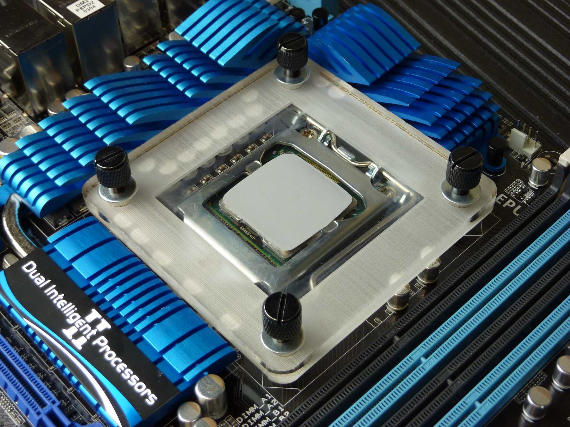 Thermal Paste Spreader Secured
