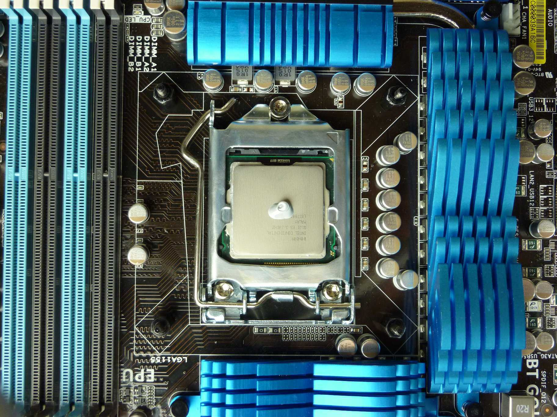 Thermal Paste 2x rice sized dot
