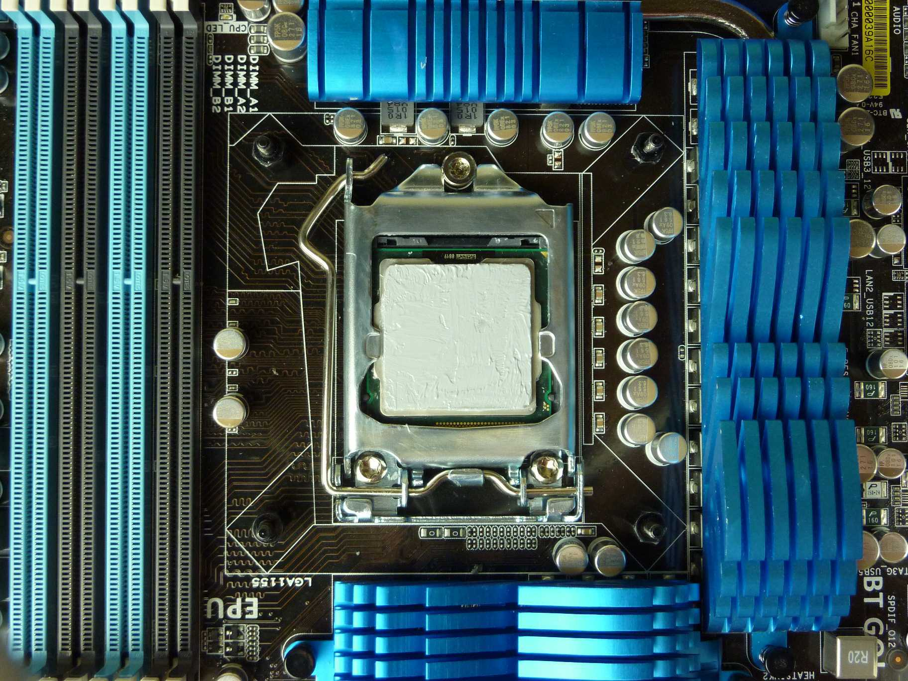 Thermal Paste smooth spread