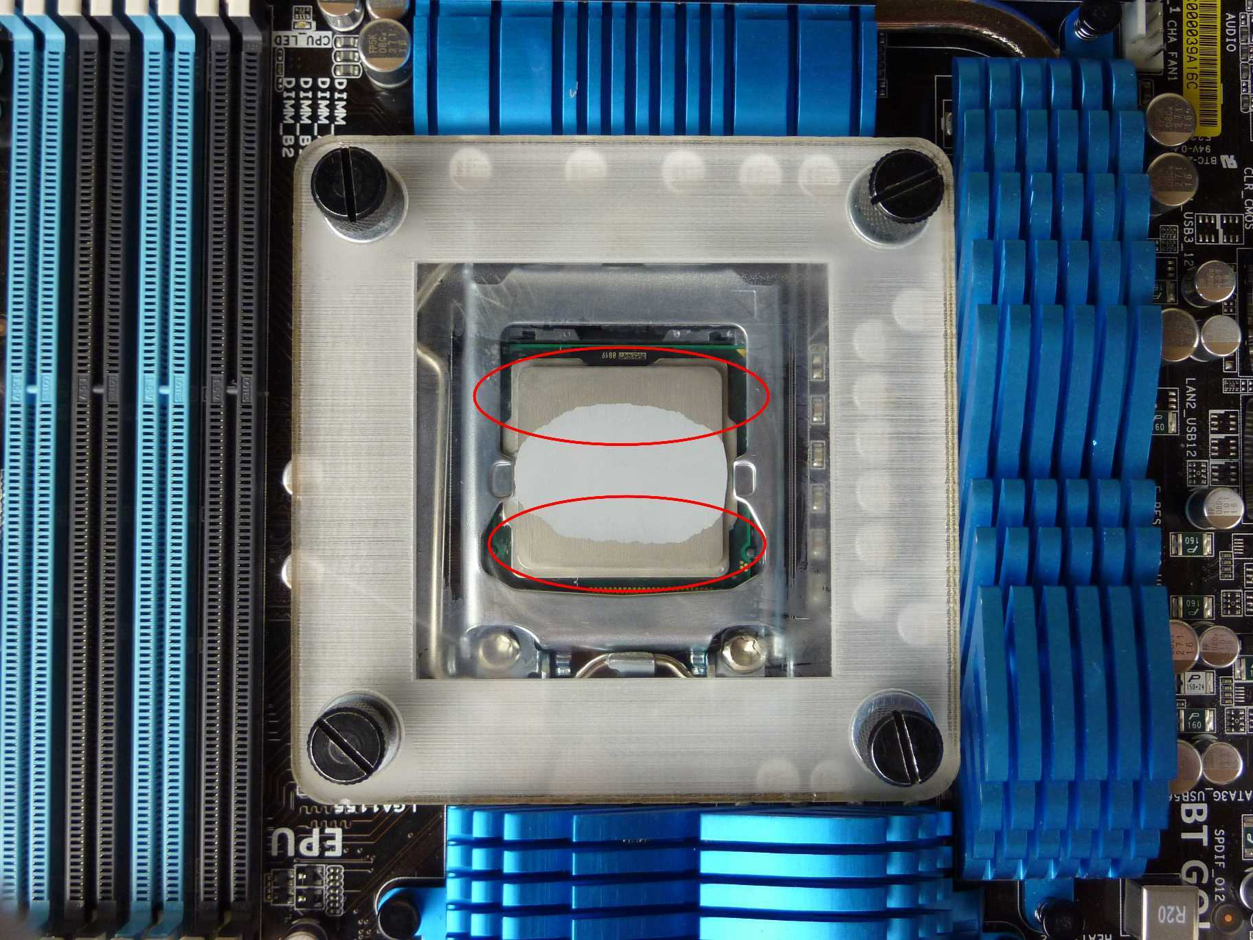 Thermal Paste Spread - Thin line