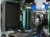 Corsair Hydro H60 Installed 1