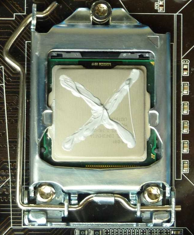 Thermal Paste best application technique