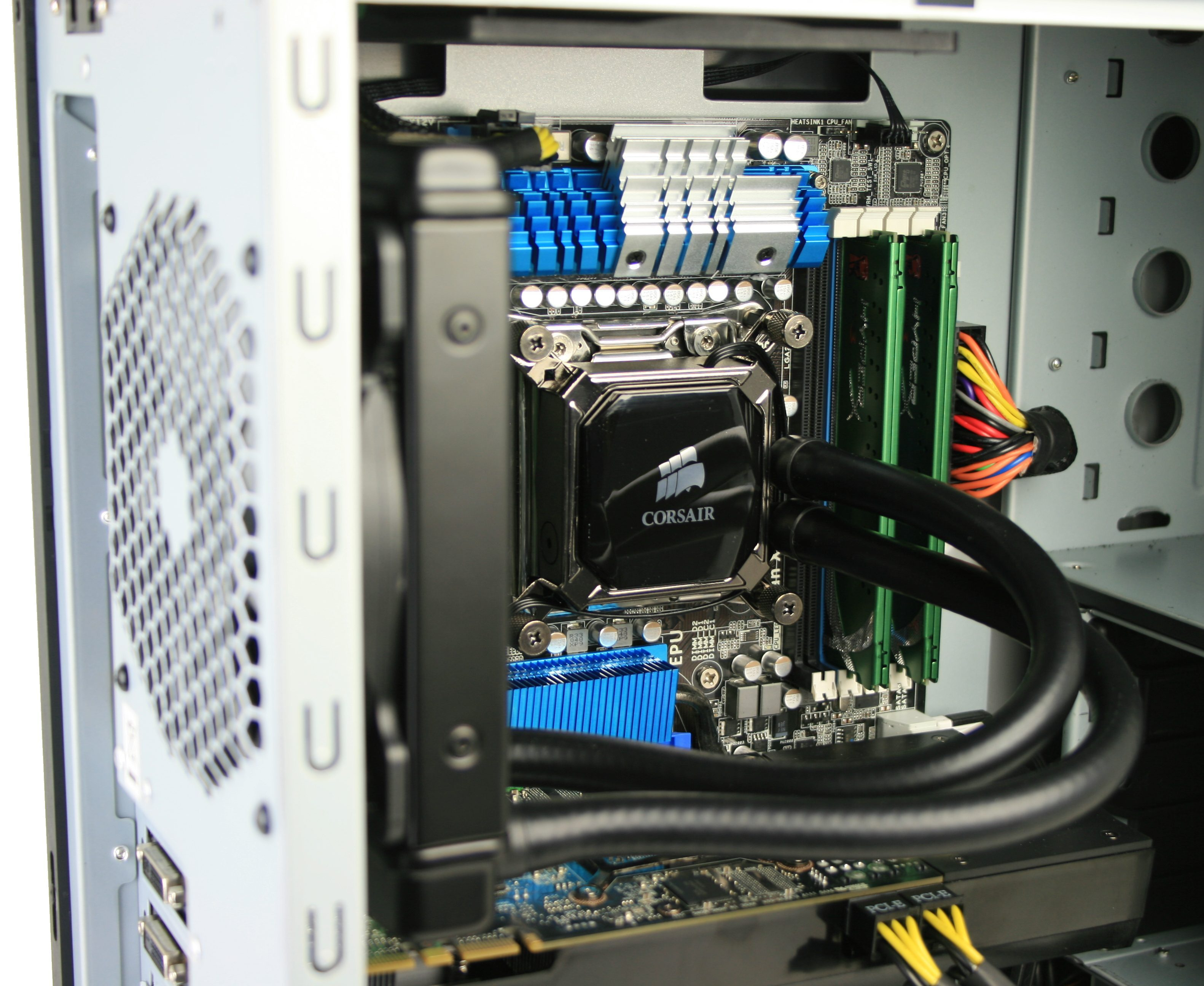 Corsair Hydro H60 Installed 3