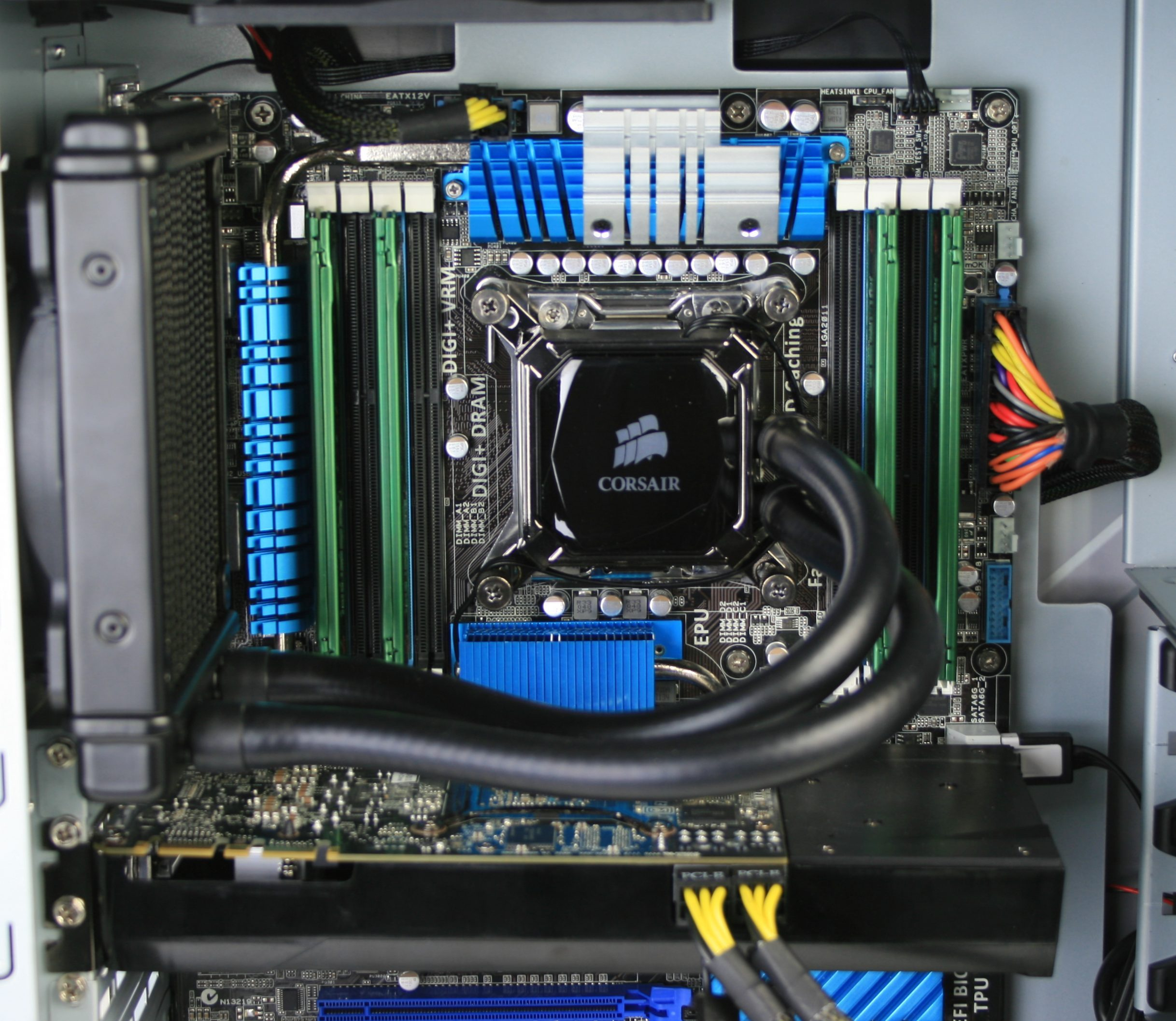 Corsair Hydro H60 Installed 2