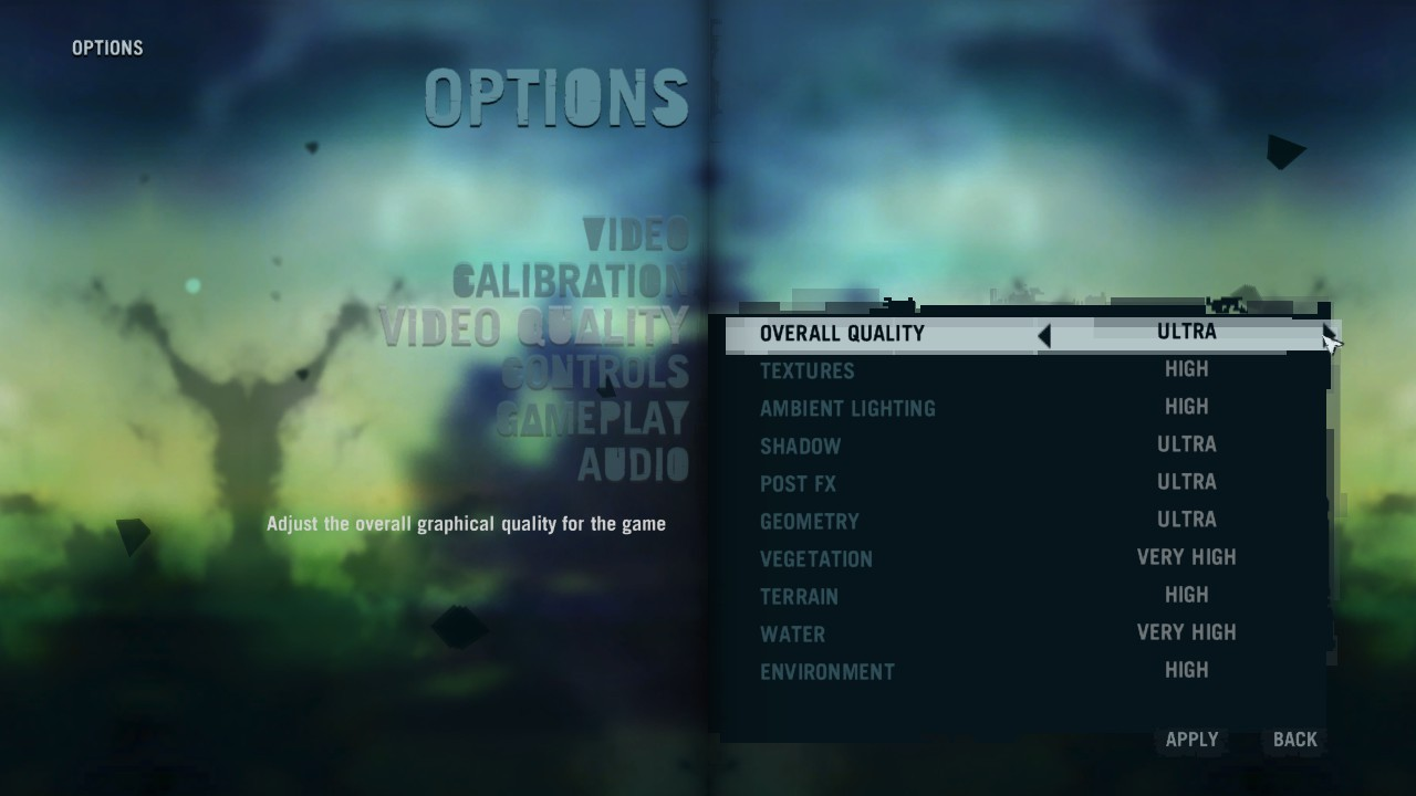 Far Cry 3 Video Quality Settings