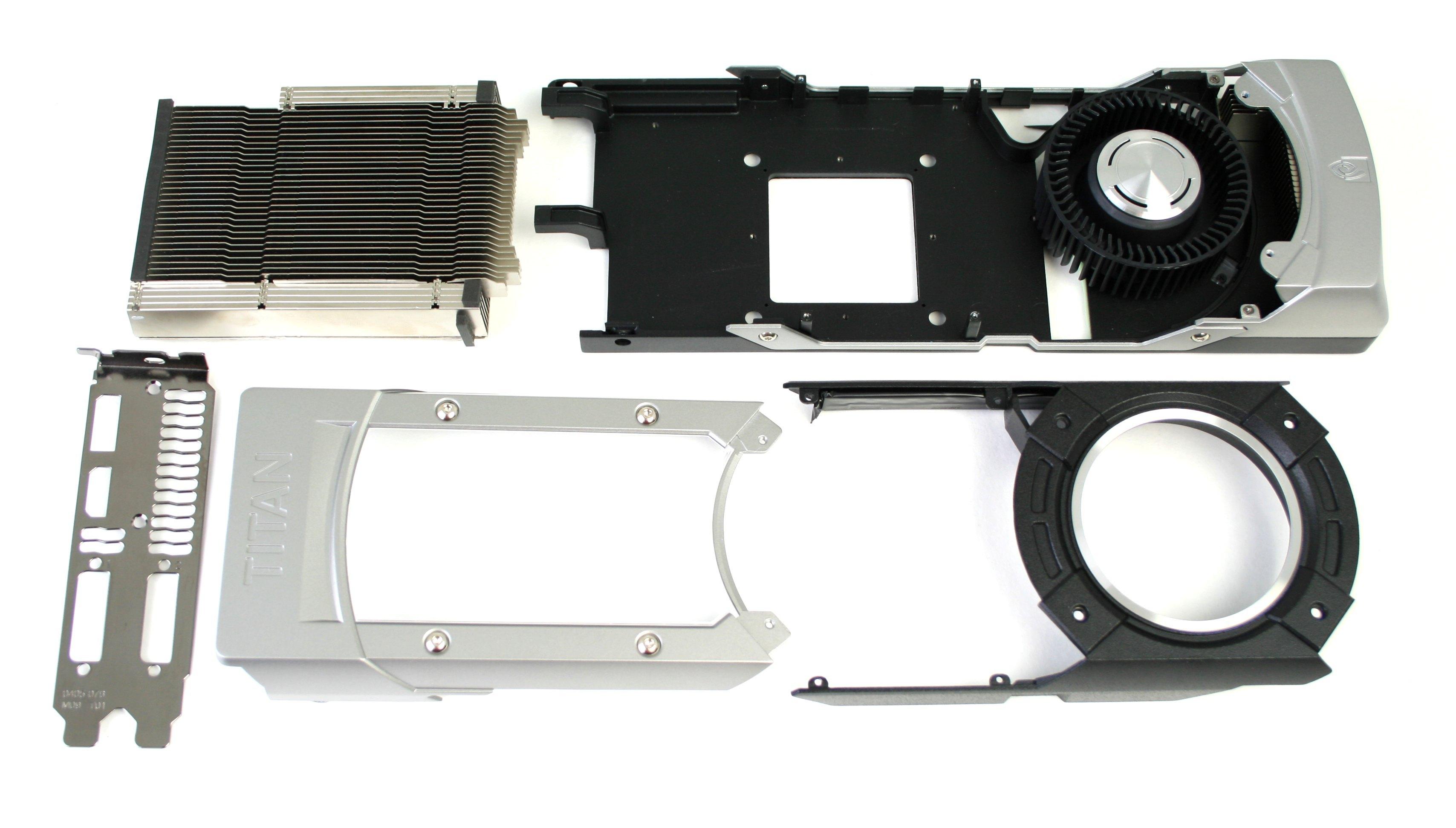 NVIDIA Geforce GTX Titan 6GB heatsink
