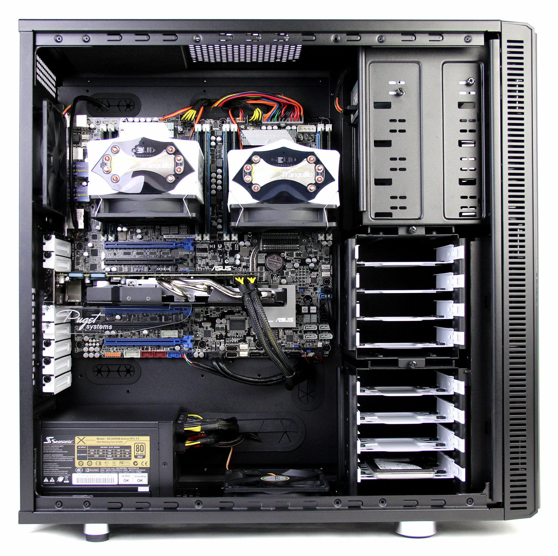 Fractal Design Define XL R2 Air Cooled System