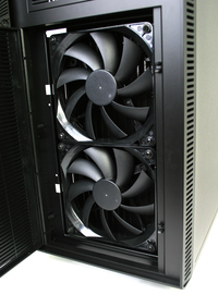 Fractal Design Define XL R2 Front Radiator Mounted