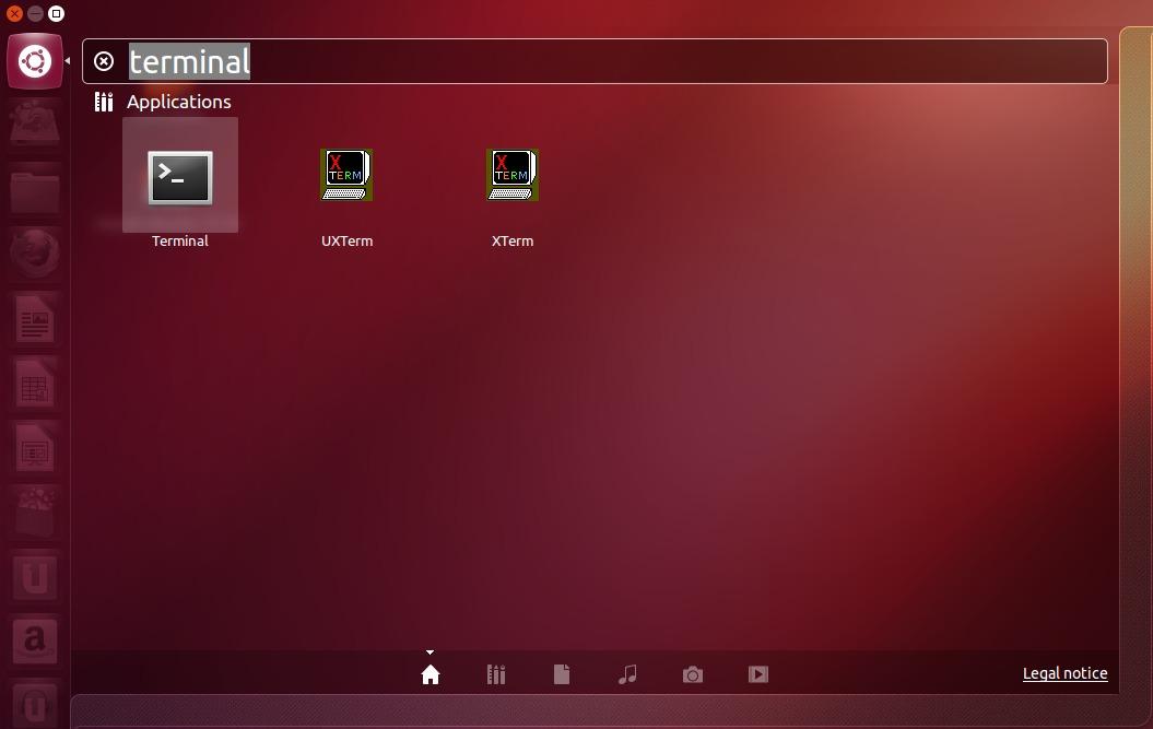 Ubuntu Launch Terminal