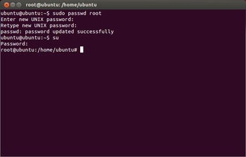 Ubuntu Set Root Password