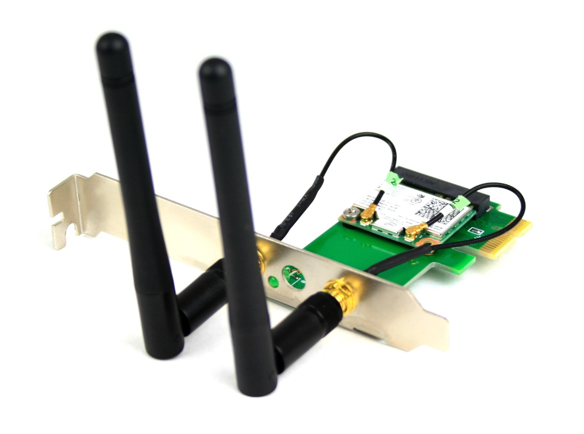 Configure PC w/ Intel WiFi 7260 HMW 867 Mbps 802 11ac Mini-PCIe Card