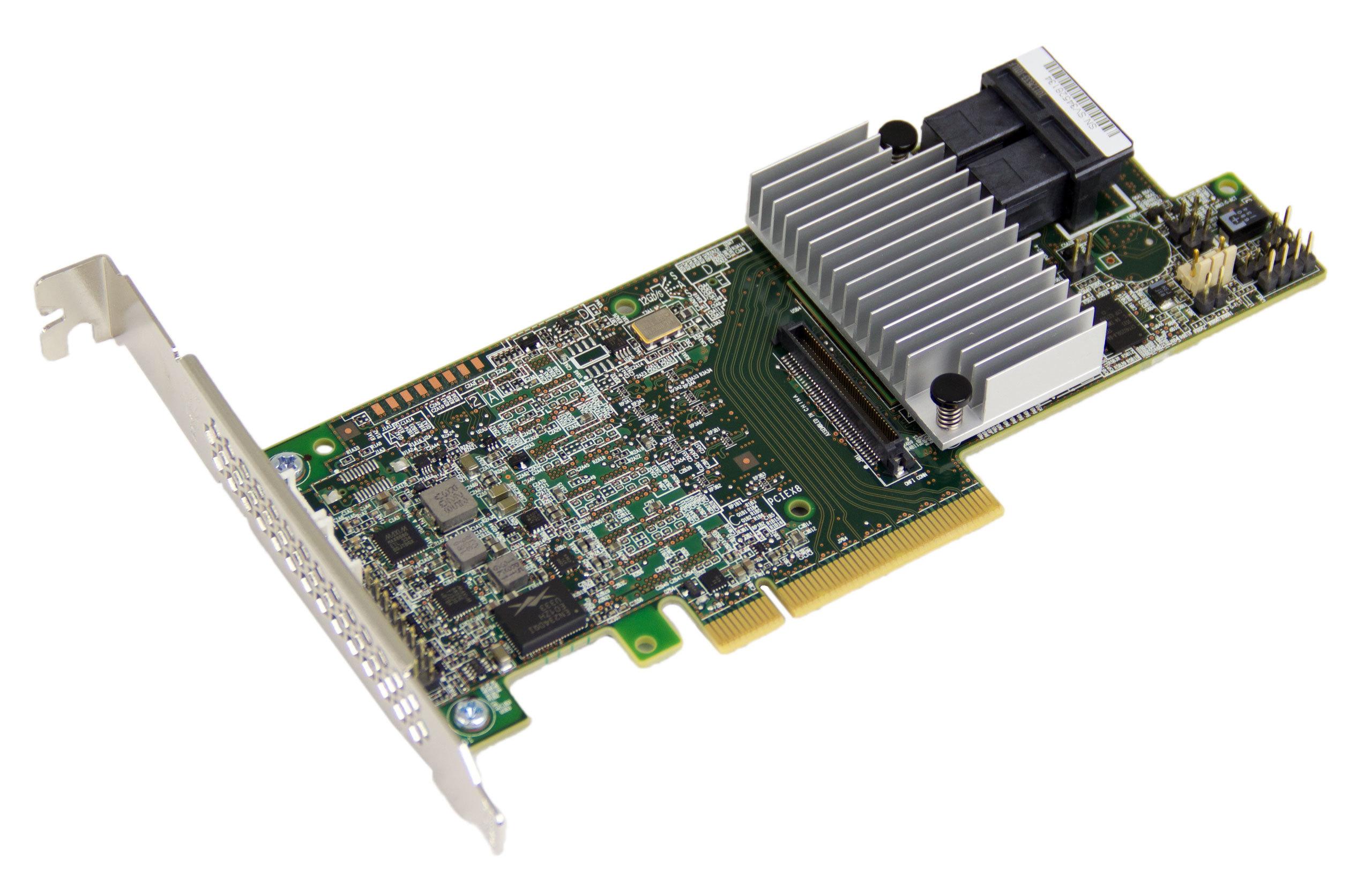 Qualification: LSI 9341-8i & 9361-8i RAID Controllers