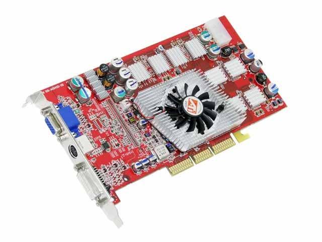 Configure PC W ATI Radeon 9800 Pro 256MB Video Card