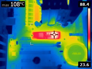 Samsung XP941 temperature