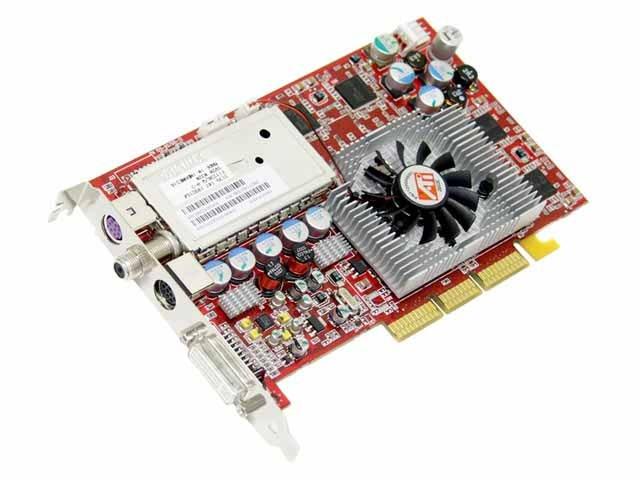 Configure PC W ATI Radeon AIW 9800 PRO 128MB DDR Video Card