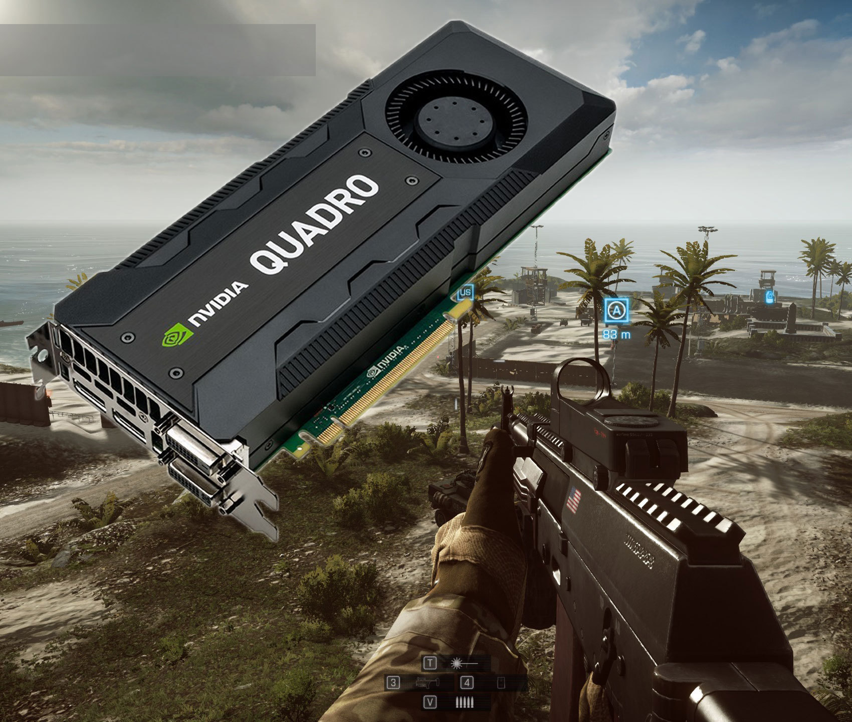 Gaming on a Quadro video card