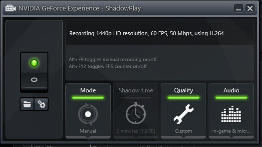 how to live stream on twitch with shadowplay