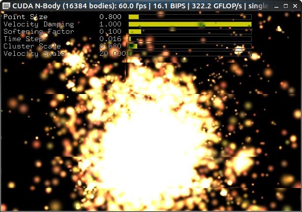 nbody OpenGL GUI