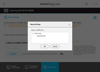 Samsung Secure Erase