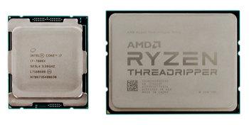 KeyShot 7 CPU Comparison: Skylake-X vs Threadripper