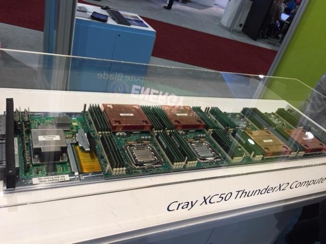 Cray Thunder X system image
