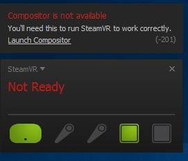 HTC Vive Compositor Error