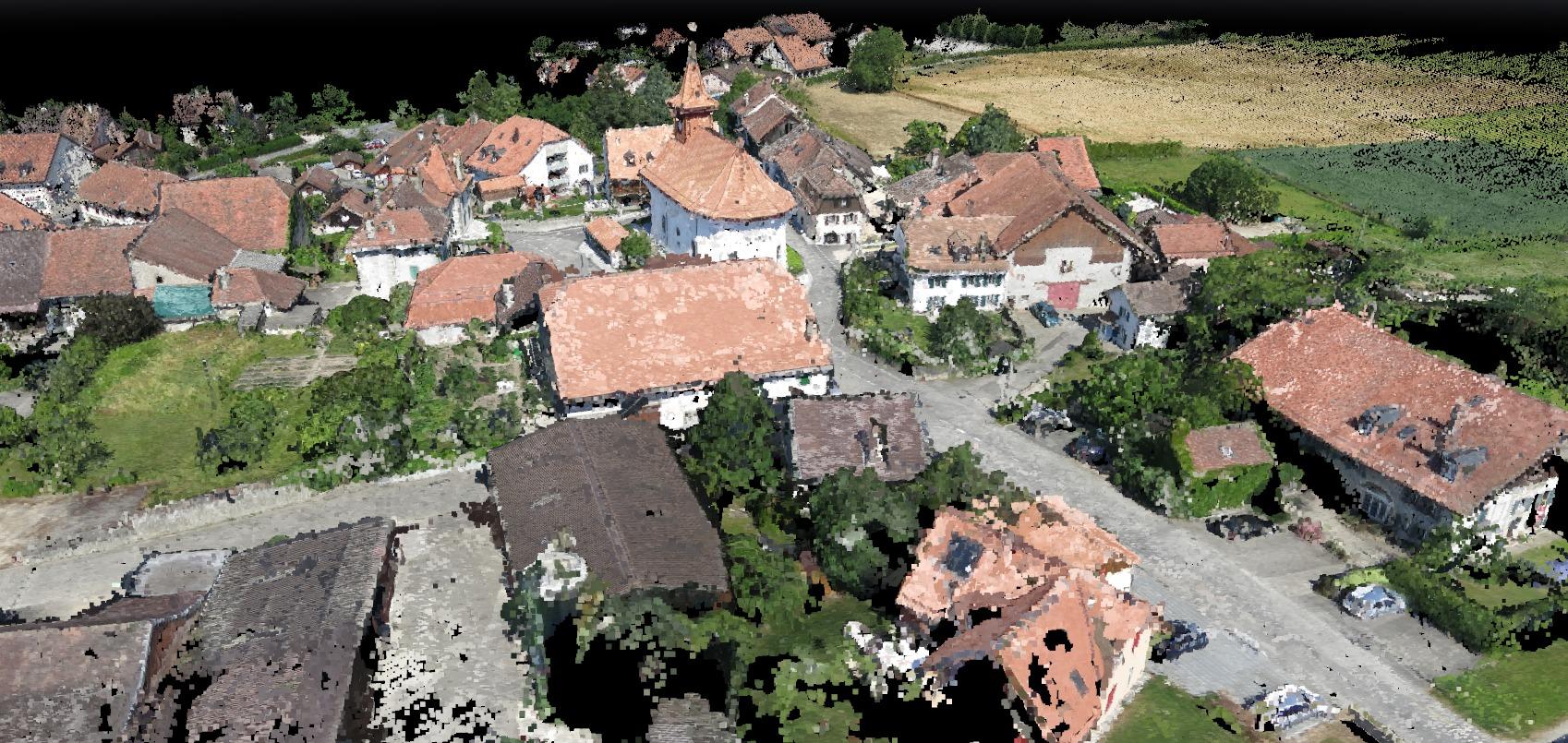 Village Photo Set Point Cloud