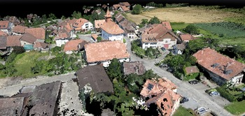 Village Photo Set Point Cloud