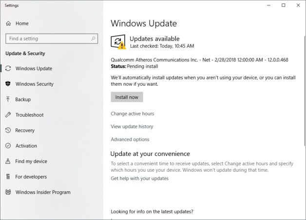 how to control when windows downloads updates